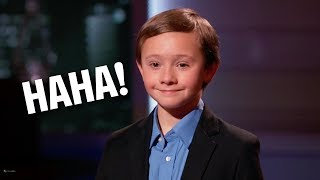 6 Year Old Kid Gets HUGE $100,000 Offer From Shark Tank