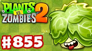 HEADBUTTER LETTUCE! New Plant! - Plants vs. Zombies 2 - Gameplay Walkthrough Part 855