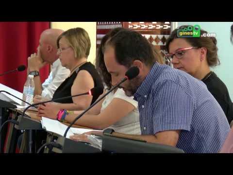 Pleno Extraordinario y Urgente del Ayuntamiento de Gines. 4 julio 2018