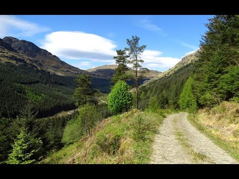 A Walk from Arrochar to Rest and Be Thankful, via Glen Croe