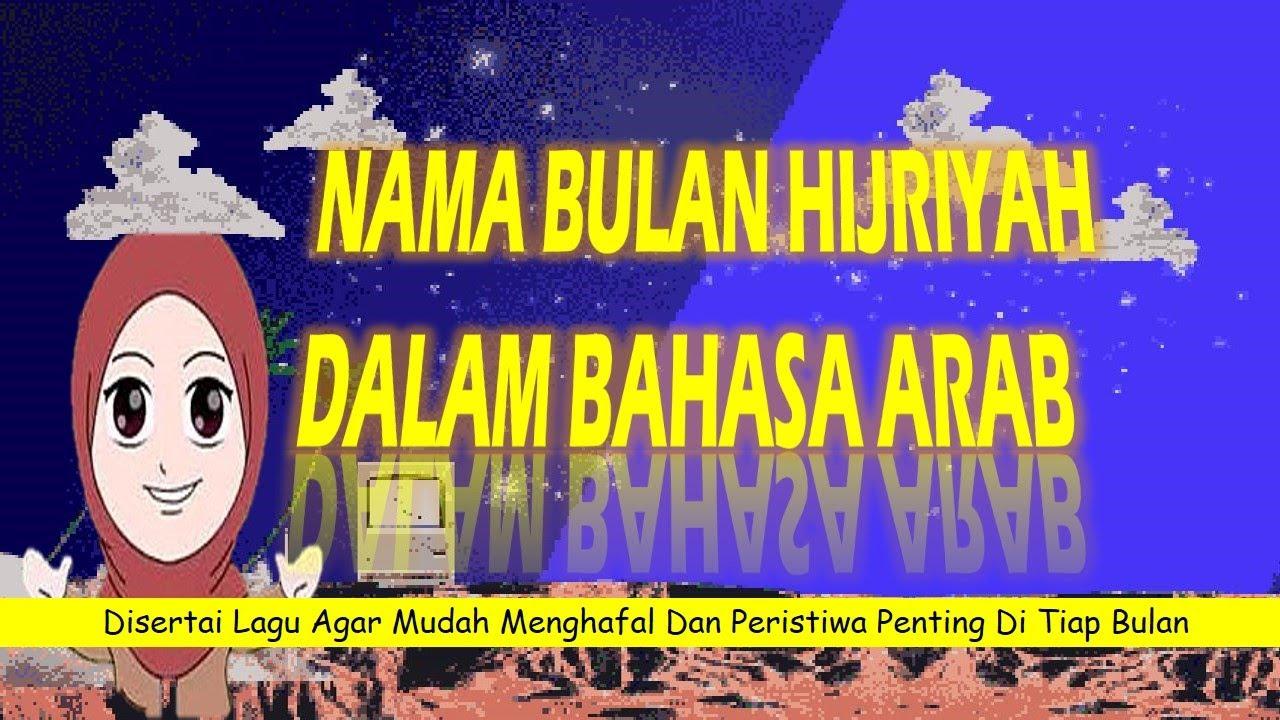 Nama Bulan Hijriyah dalam Bahasa Arab Peristiwa Penting di ...