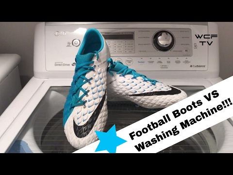 Cleats in Washing Machine!!! Football Boot Life Hack - MOTION BLUR PACK - ✔️