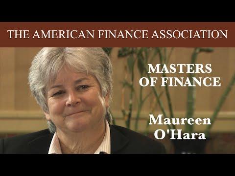 Masters of Finance: Maureen O'Hara