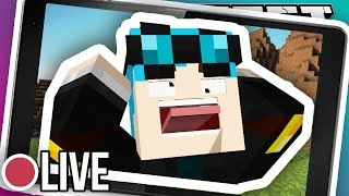 MINECRAFT POCKET EDITION LIVE #2!!