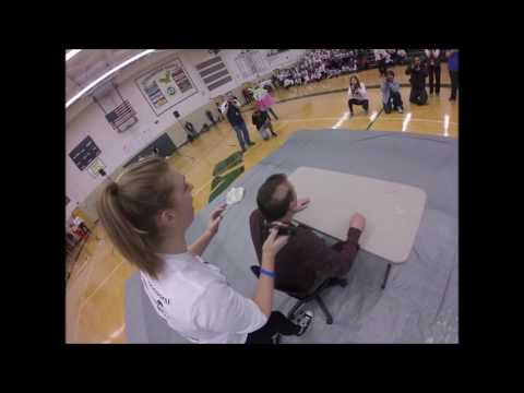 Wylie E. Groves High School Make-A-Wish Assembly