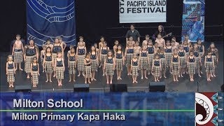Milton School -‐ Milton Primary Kapa Haka