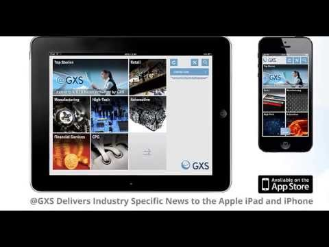 See the new @GXS Mobile App in Action