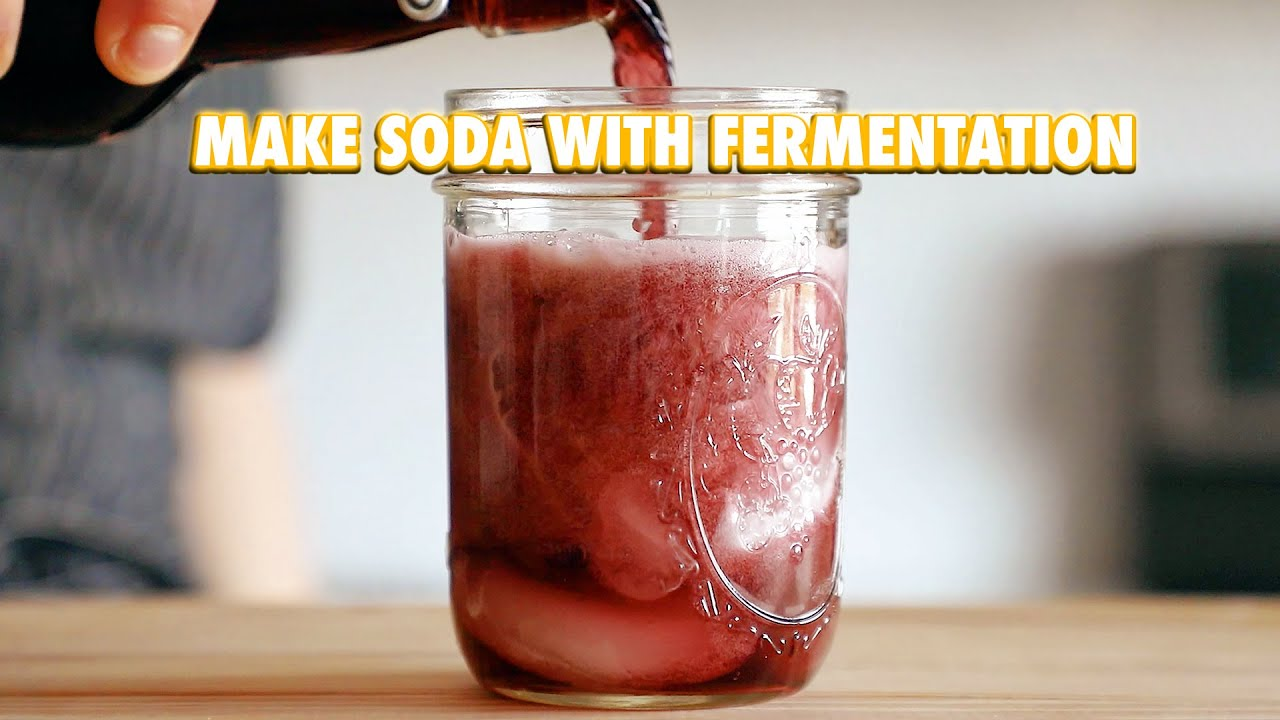 Soda with Anything Fermented