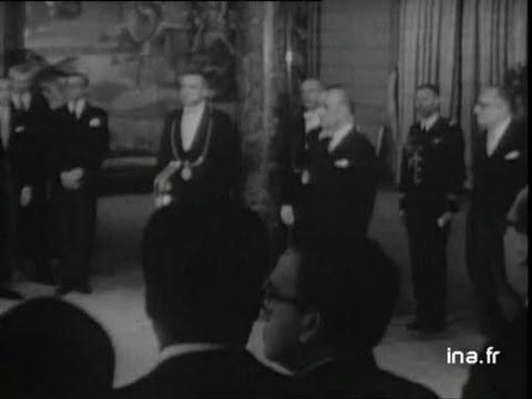Réception corps diplomatique à l'Elysée