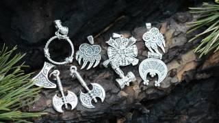 Купить славянские обереги из серебра