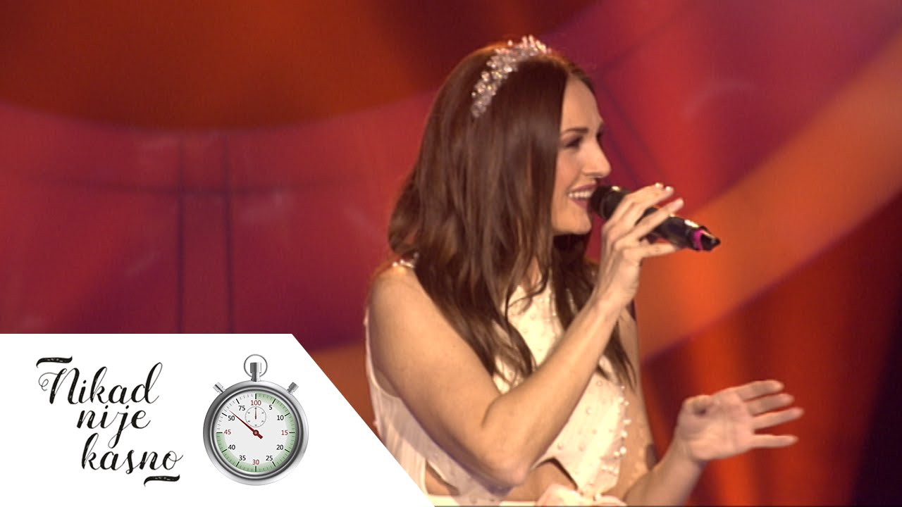 Aleksandra Radovic - Cuvam te - (live) - Nikad nije kasno - EM 19 - 28.02.16.