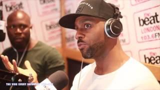 The Vibe, Travis Jay & KG Tha Comedian interview Richard Blackwood