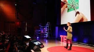 """Leah Buechley: How to """"sketch"""" with electronics"""