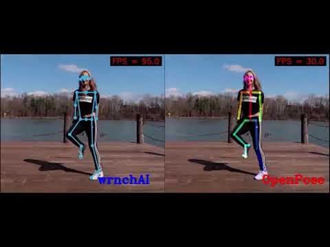 Pose Detection comparison : wrnchAI vs OpenPose | Learn OpenCV