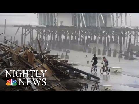 Hurricane Harvey Intensifies As It Roars Towards Texas   NBC Nightly News
