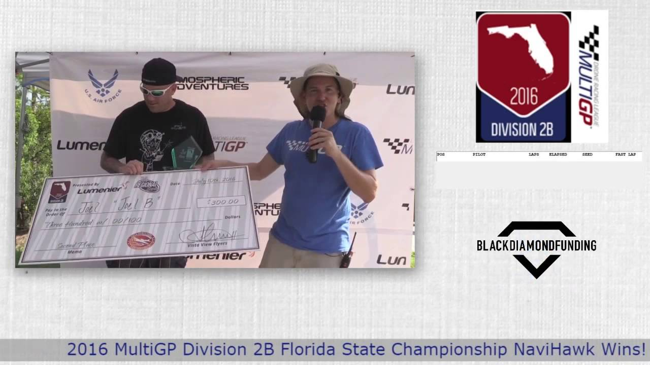 2016 MultiGP 2B Florida Finals Award Ceremony