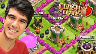 SÓ FARM INCRÍVEL!! MAXIMIZANDO MEU CV 7 - COMEÇANDO NO CLASH OF CLANS #26