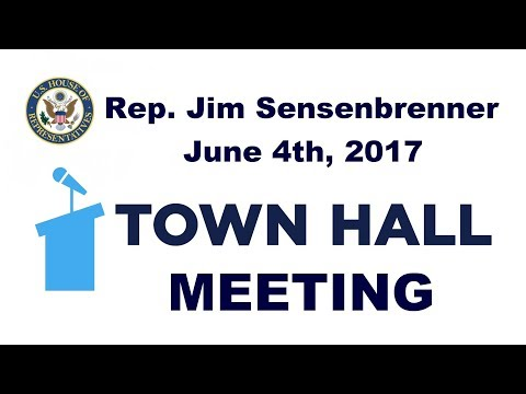 Rep. Jim Sensenbrenner Town Hall Meeting in Lake Mills, WI - June 4th, 2017