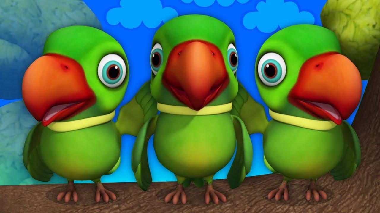 Download Main Tota Hare Rang Ka   Hindi Rhymes   मैं तोता मैं तोता   Hindi Rhymes For Kids   Baby Songs Hindi