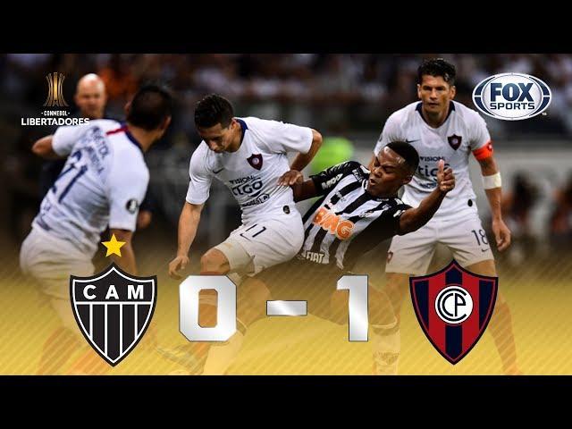 GALO DERROTADO! Veja o gol da vitória do Cerro Porteño sobre Atlético-MG