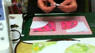 Patchwork Ao Vivo: como cortar e costurar em curva