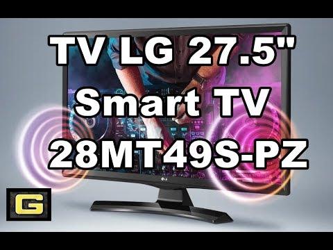 """UNBOXING TV LG 27.5"""" Smart TV modelo 28MT49S-PZ ➕ SOPORTE PARED"""