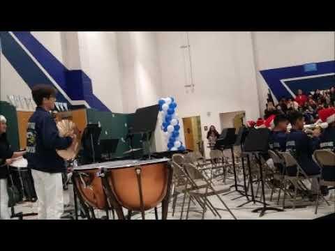 Heritage Intermediate School Hawk Band Percussion Orchestra December 12 2018 Winter Concert