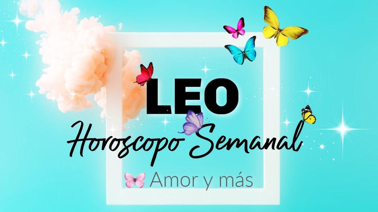 LEO! ♌️SE DESESPERA POR ACLARAR ALGO CONTIGO TOMA ACCIÓN🔥TAROT SEMANAL AMOR Y MAS HOROSCOPO Y TAROT