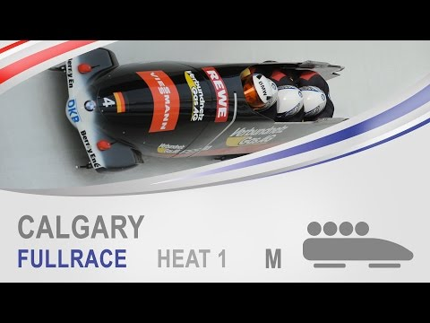 Calgary | 4-Man Bobsleigh Heat 1 World Cup Tour 2014/2015 | FIBT Official