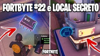 FORTNITE-NEW FORTBYTE #22, SECRET SITE and NEW CONCEPT