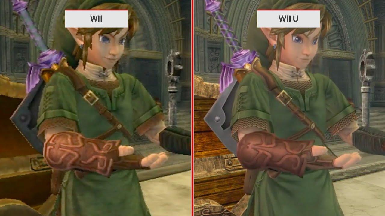 the legend of zelda: twilight princess hd graphics comparison wii u