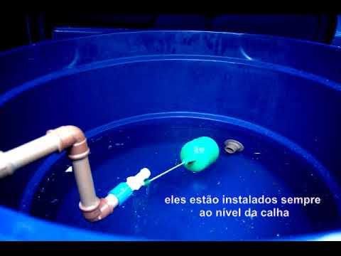 Sistema de Captação de Água de Chuva Palete Parque