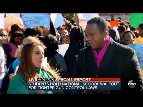 Druid Hills High School ABC News Student Walkout