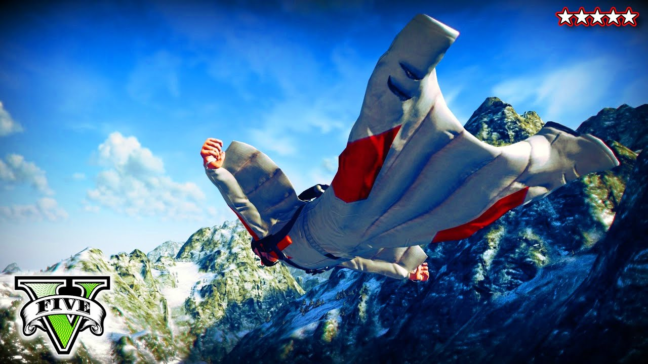 GTA 5 EXTREME SKYDIVING Challenges