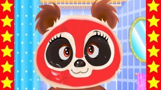 Панда в салоне красоты Новые мультики для детей Мультфильмы про животных Видео для детей