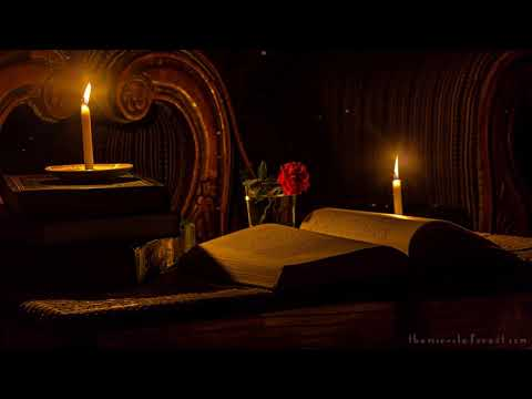 Reading by Candlelight ASMR Ambience - YouTube