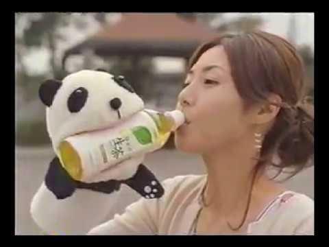 松嶋菜々子 生茶 CM スチル画像。CM動画を再生できます。