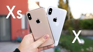 Apple iPhone Xs vs. iPhone X (Deutsch) | SwagTab