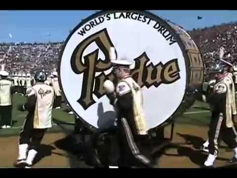 Purdue University has the world's biggest drum