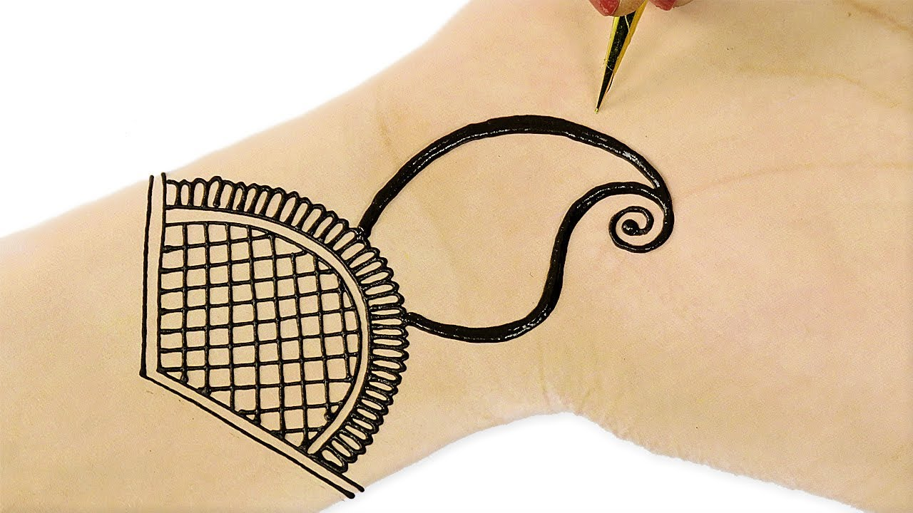 Mehndi Peacock Tattoos : Beautiful arabic mehndi designs for hands simple peacock