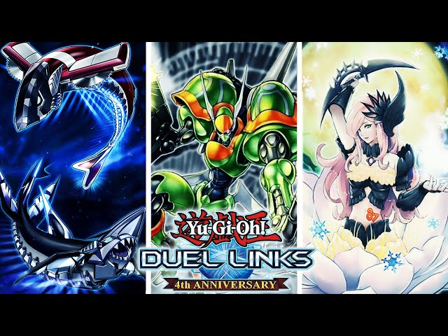 Yu-Gi-Oh! Duel Links | HUGE LEAKS! T.G. MAIN BOX? NEW XYZ CARDS! SHARKS & ANTINOMY LEVEL UP CARDS?