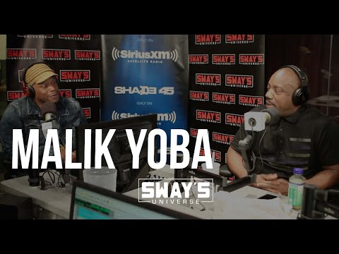 Malik Yoba Tests Out British Accent From
