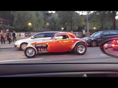 Muscle cars in Stockholm