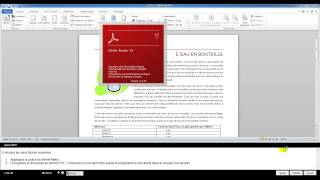 Examen Microsoft Office Spécialiste (Word 2010)