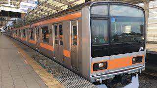 中央線 209系1000番台 トタ81編成 試運転(元マト81編成)1月25日