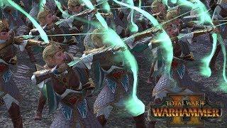 Sisters of Dakka - High Elves vs Tomb Kings // Total War: Warhammer II Online Battle