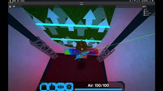 Playing with quite a few friends Beating insanely hard maps on Roblox