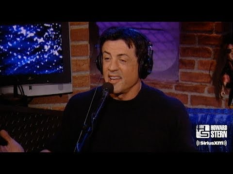 """Sylvester Stallone Takes Howard Behind the Scenes of """"Rocky"""" and """"Rambo"""""""