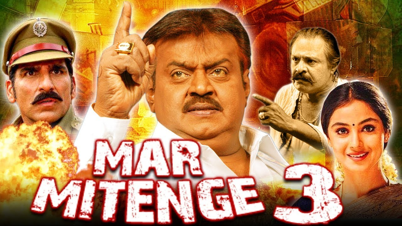 Download Mar Mitenge 3 (Ramanaa) Tamil Hindi Dubbed Full Movie | Vijayakanth, Simran, Ashima Bhalla