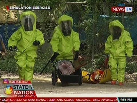 SONA: Kahandaan ng BFP sa chemical attack, nasubok sa simulation exercise